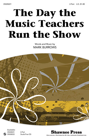 Product Cover for The Day the Music Teachers Run the Show