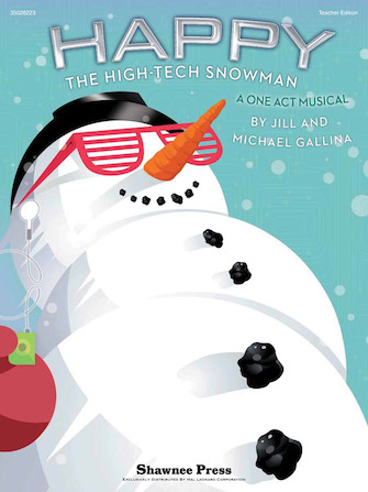 Happy, the High-Tech Snowman