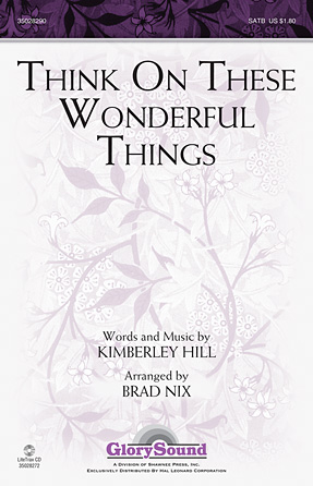 Product Cover for Think on These Wonderful Things