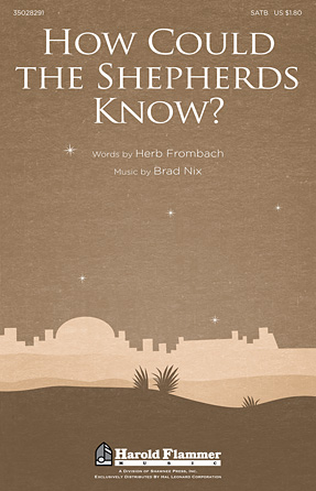 Product Cover for How Could the Shepherds Know?