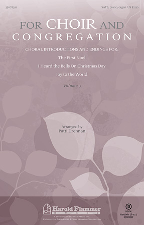 Product Cover for For Choir and Congregation, Vol. 3