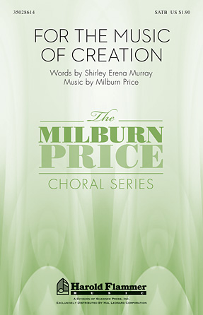 Product Cover for For the Music of Creation
