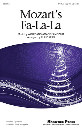 Product Cover for Mozart's Fa-la-la