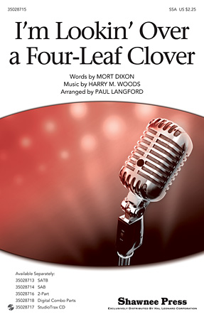 Product Cover for I'm Looking Over a Four Leaf Clover