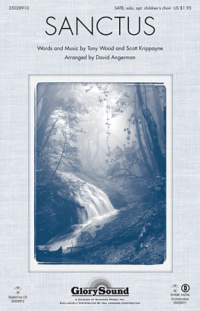 Sanctus : SATB : David Angerman : Tony Wood : Sheet Music : 35028910 : 884088889944