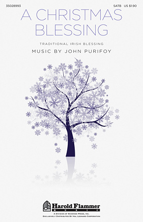 A Christmas Blessing : SATB : John Purifoy : John Purifoy : Sheet Music : 35028993 : 884088906078
