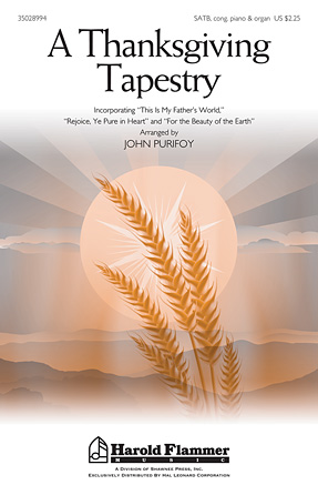 A Thanksgiving Tapestry : SATB : John Purifoy : Sheet Music : 35028994 : 884088906085