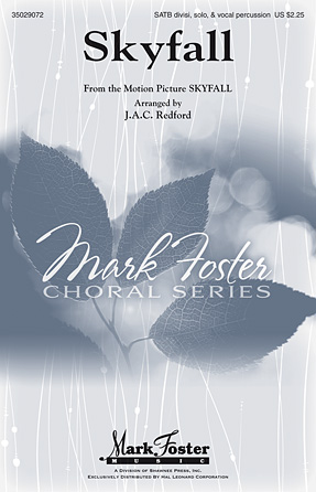 Skyfall : SATB divisi : J.A.C. Redford : Adele : Adele : Sheet Music : 35029072 : 884088916114 : 1480345806
