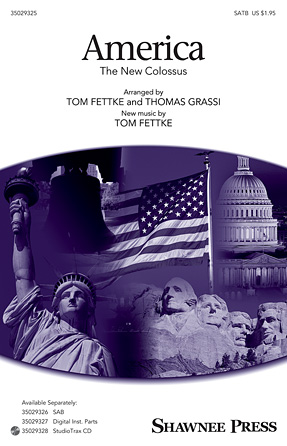 America : SATB : Tom Fettke : Sheet Music : 35029325 : 884088954604 : 1480360724