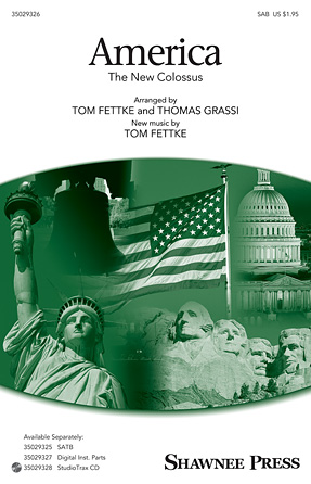 America : SAB : Tom Fettke : Sheet Music : 35029326 : 884088954611 : 1480360732