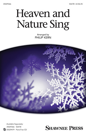 Product Cover for Heaven and Nature Sing