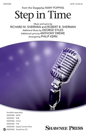Step In Time : SATB : Philip Kern : Richard M. Sherman : Mary Poppins : Sheet Music : 35029380 : 884088956950 : 1480361801