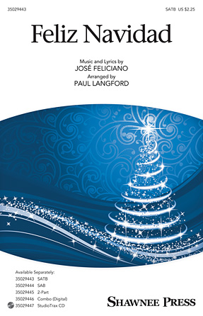Feliz Navidad : 2-Part : Paul Langford : Jose Feliciano : Jose Feliciano : Sheet Music : 35029445 : 884088961572 : 1480365467