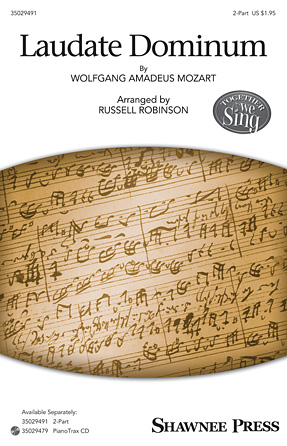 Laudate Dominum : 2-Part : Russell Robinson : Wolfgang Amadeus Mozart : Sheet Music : 35029491 : 884088964689 : 1480367362