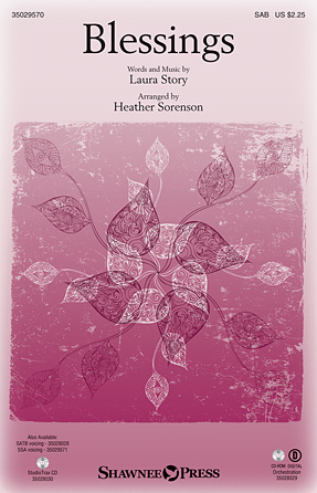 Blessings : SAB : Heather Sorenson : Laura Story : Sheet Music : 35029570 : 884088984632