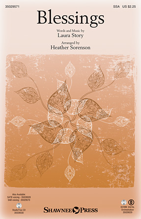 Blessings : SSA : Heather Sorenson : Laura Story : Sheet Music : 35029571 : 884088984649