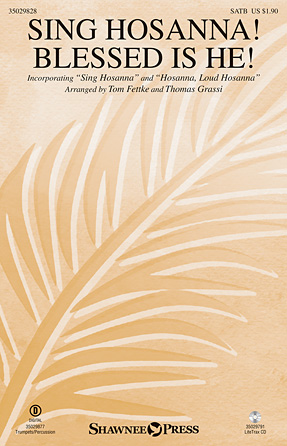 Product Cover for Sing Hosanna! Blessed Is He!