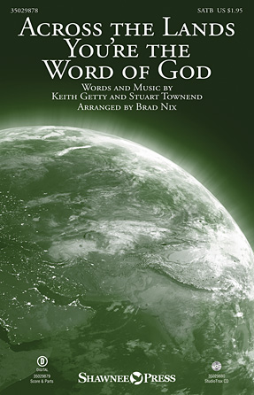Product Cover for Across the Lands You're the Word of God