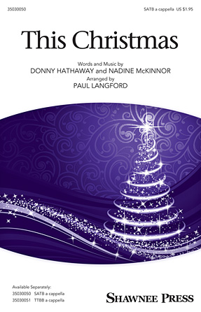 This Christmas : SATB : Paul Langford : Donny Hathaway : Sheet Music : 35030050 : 888680036508 : 149500676X