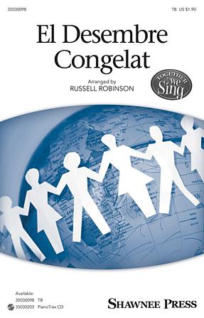 El Desembre Congelat : TB : Russell Robinson : Sheet Music : 35030098 : 888680041557 : 1495008355
