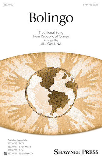 Bolingo : 2-Part : Jill Gallina : Sheet Music : 35030720 : 888680102227 : 1495053954