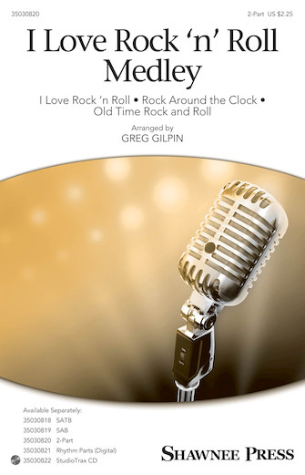 Product Cover for I Love Rock 'n' Roll Medley