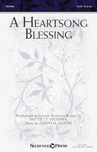Product Cover for A Heartsong Blessing