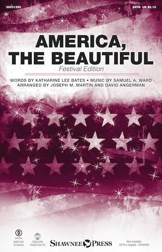 America, the Beautiful : SATB : Joseph Martin : Samuel A. Ward : Sheet Music : 35031280 : 888680645281