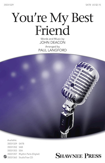 Product Cover for You're My Best Friend (arr. Paul Langford)