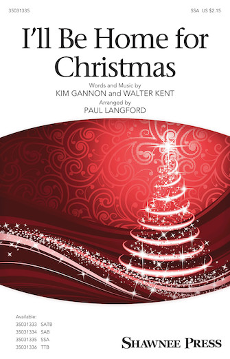 Product Cover for I'll Be Home for Christmas