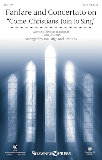"""Product Cover for Fanfare and Concertato on """"Come, Christians, Join to Sing"""""""