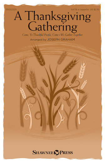 Product Cover for A Thanksgiving Gathering