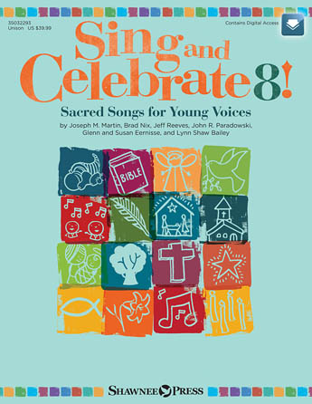 Product Cover for Sing and Celebrate 8! Sacred Songs for Young Voices
