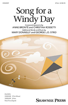 Song for a Windy Day : 2-Part : Mary Donnelly : Mary Donnelly : Sheet Music : 35032409 : 888680826376 : 1540036502