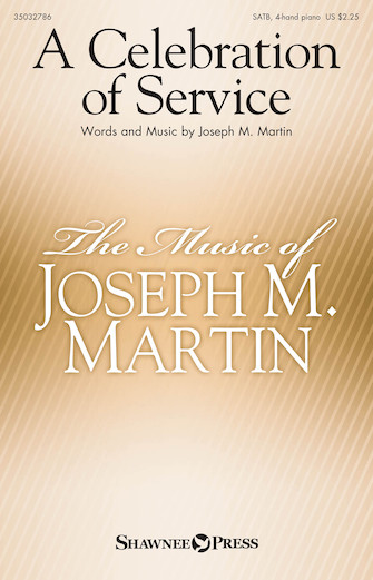 Product Cover for A Celebration of Service