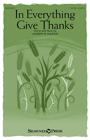 Product Cover for In Everything Give Thanks