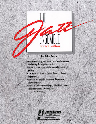 Product Cover for The Jazz Ensemble Director's Handbook