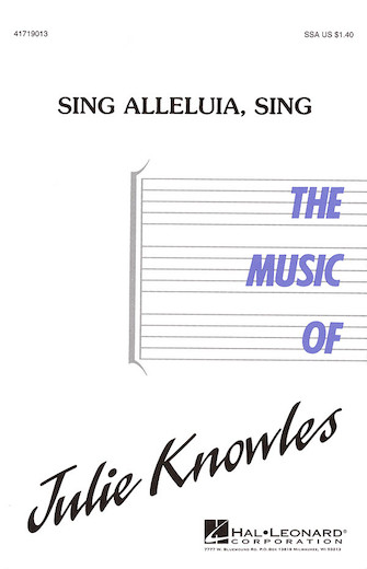 Product Cover for Sing Alleluia, Sing