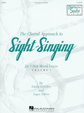 Product Cover for The Choral Approach to Sight-Singing (Vol. I)