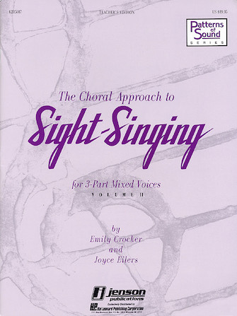 Product Cover for The Choral Approach to Sight-Singing (Vol. II)