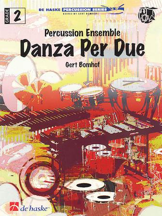 Product Cover for Danza Per Due for Percussion Ensemble