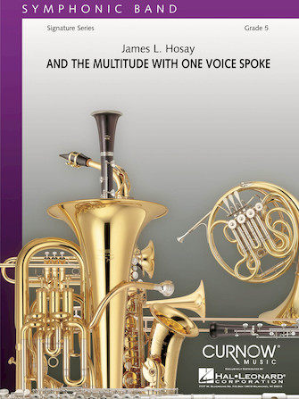 Product Cover for And the Multitude with One Voice Spoke