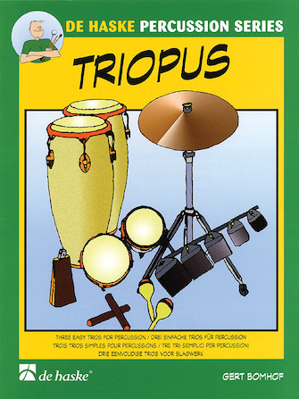 Product Cover for Triopus for Percussion Ensemble