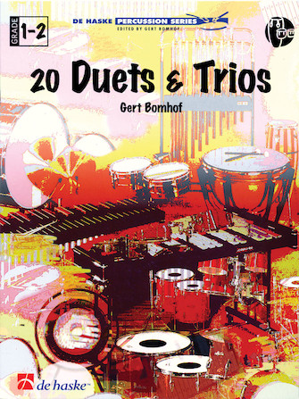 Product Cover for Twenty Duets and Trios Percussion Ensemble