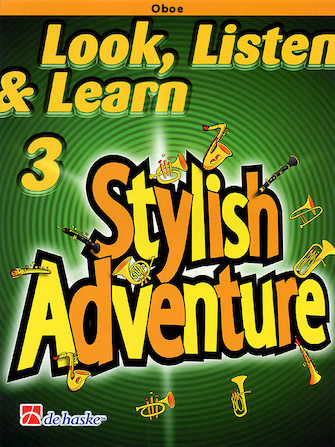 Product Cover for Look, Listen & Learn Stylish Adventure Oboe Grade 3