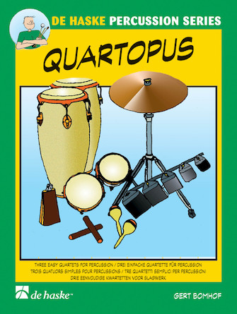 Product Cover for Quartopus 3 Easy Quartets For Percussion