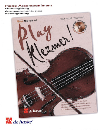 Product Cover for Play Klezmer! Piano Accompaniment