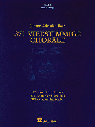 Product Cover for 371 Vierstimmige Choräle (Four-Part Chorales)