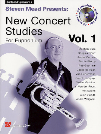 Product Cover for Steven Mead Presents: New Concert Studies for Euphonium