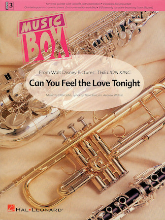 Product Cover for Can You Feel the Love Tonight
